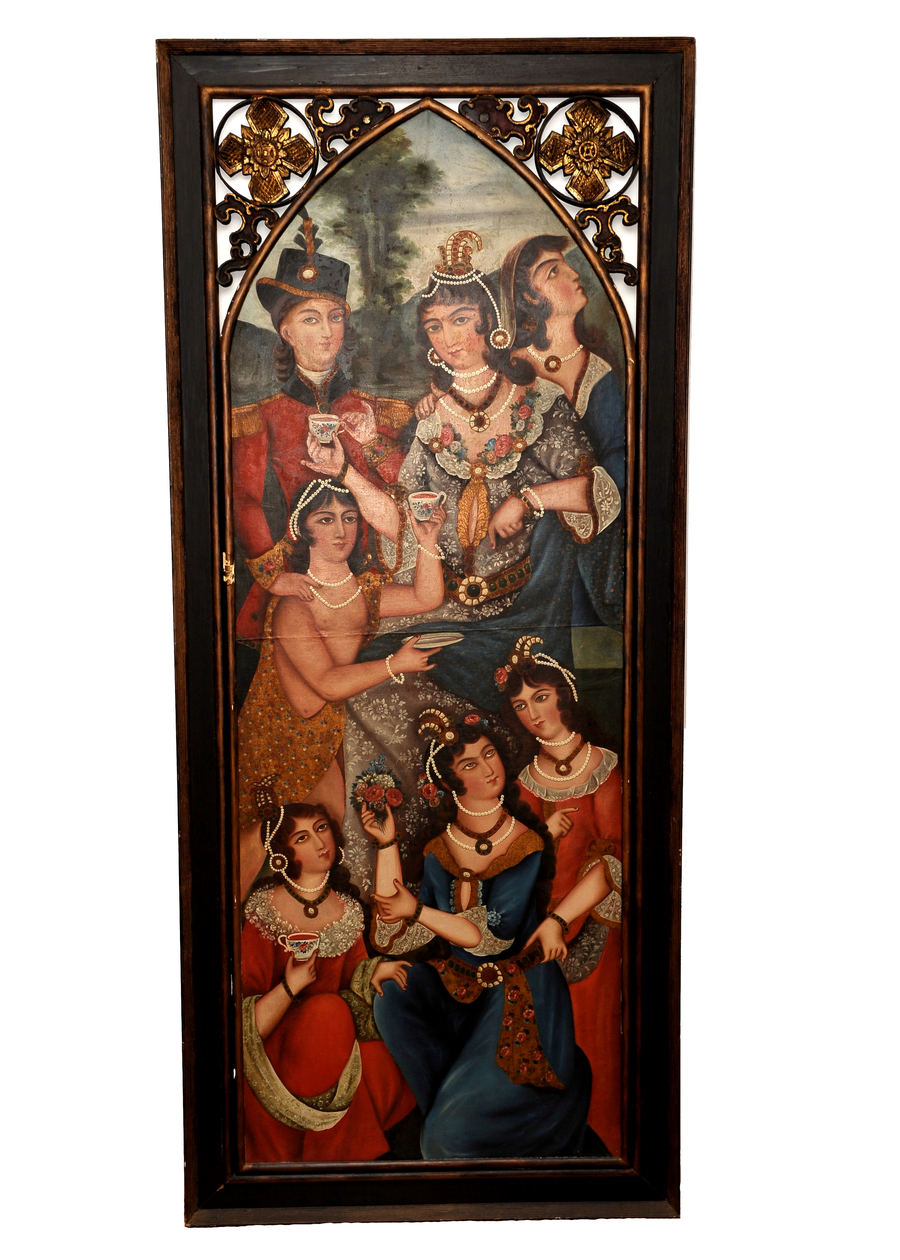 Qajar paintings